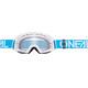 ONeal B-20 Goggles FLAT teal/white-radium